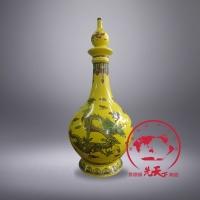 陶瓷酒瓶定制LOGO