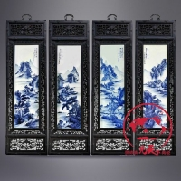 景德镇青花瓷瓷板画