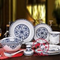 青花瓷碗盘碟餐具