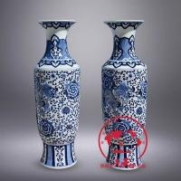 装饰品青花瓷器花瓶