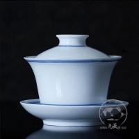 定做陶瓷盖碗三才碗