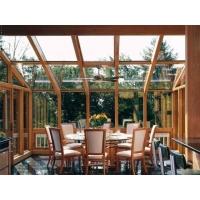 天津红橡铝包木门窗  无缝美观