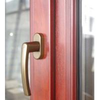 天津无缝焊接金刚网铝包木门窗