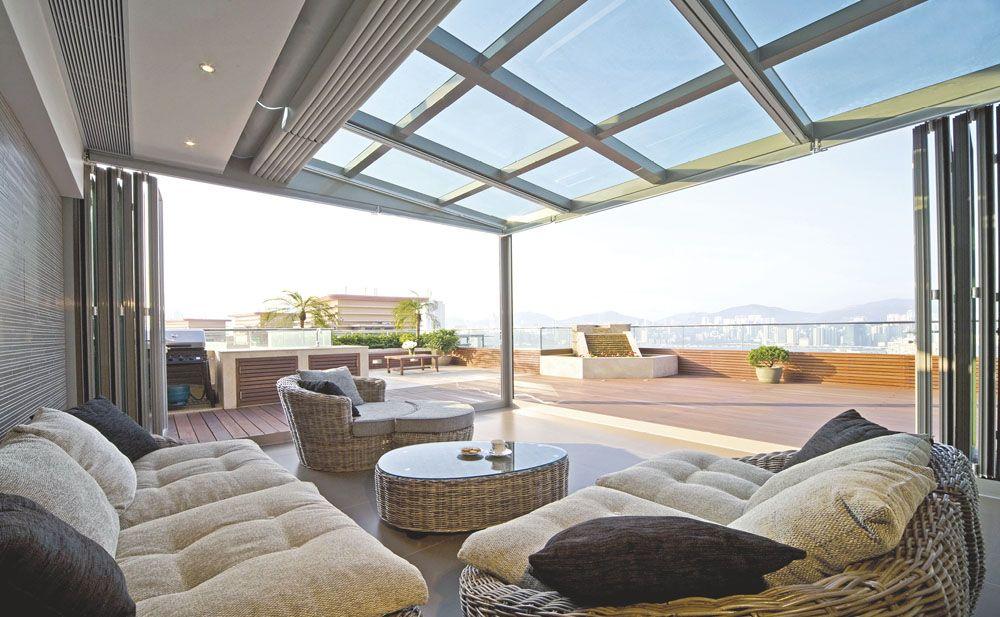 高檔別墅裝修必備庭院歐式陽光房