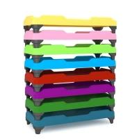 幼儿床 宝成七彩幼儿床 环保幼儿床 全塑欧式造型床