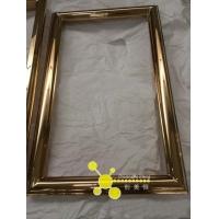 酒店不锈钢镜框,浴室玫瑰金高档镜框