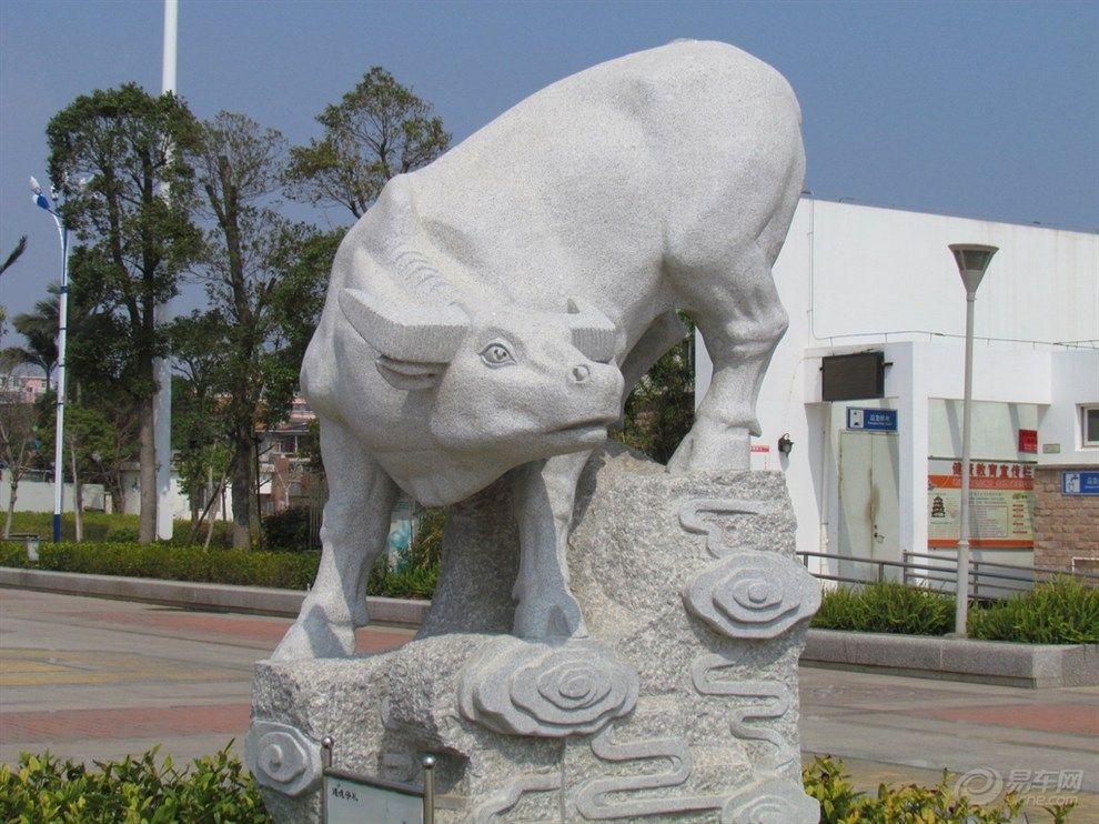 石雕黄牛雕刻动物雕塑