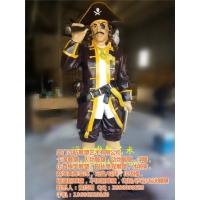 商城海盗主题雕塑,景观人物雕塑,人物雕塑摆件