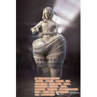 玻璃钢校园雕塑,写实人物雕塑,体育明星人物雕塑