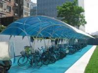 阳光板车棚遮阳雨棚 番禺轻型金属钢结构避雨篷粘接密封胶