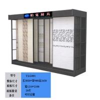 柏宽牌TLG001双排推拉门瓷砖展示柜