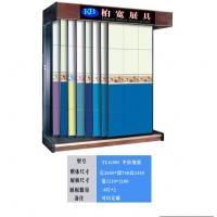 柏宽牌平推式瓷片展示柜TLG005