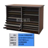 双排抽屉式瓷砖展示柜,瓷砖石材抽屉展柜,双排展柜