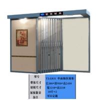 单面石材展示柜,微晶石展示柜,瓷砖展具
