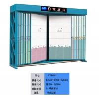 高级墙面砖展示柜双面展示节约空间
