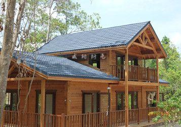 专业供应彩色木屋瓦 彩色金属屋面瓦