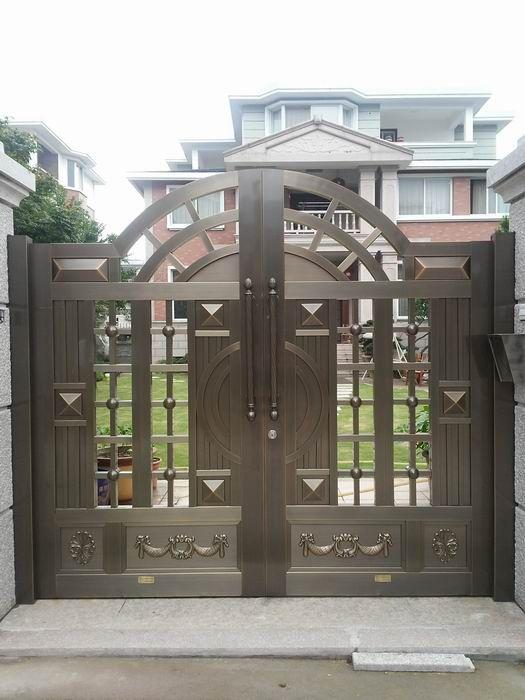 豪华防盗门 不锈钢真铜门