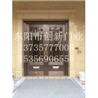 庭院铜门安装效果图