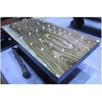 大斑马原木大板桌