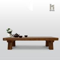 榕华家居韩式榆木小茶几飘窗桌炕几榻榻米桌