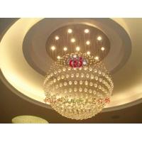 凯瑞丰专业生产传统水晶灯、酒店工程灯、非标工程 灯