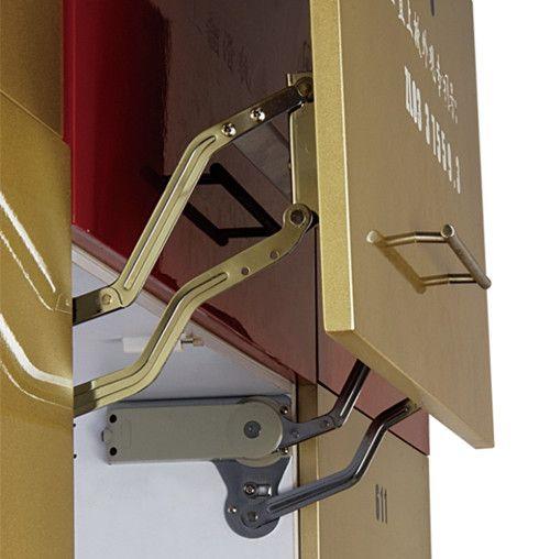 液压垂直上掀 上翻门支撑 橱柜支撑图片