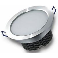 供应LED方形面板灯明装天花圆形白色吸入式节能灯