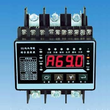 该电机保护器具有铜板连接结构,是替换热继的