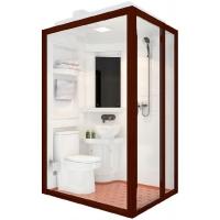 销售那波利整体卫浴整体卫生间一体式卫生间集成卫浴价格 图