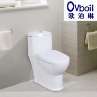 潮州马桶节水座便器虹吸式连体陶瓷卫浴洁具左排右排墙排直冲