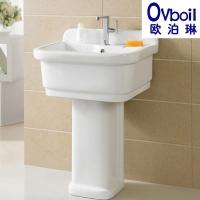 潮州陶瓷立柱盆浴室洗衣池阳台拖布池地拖桶拖把盆厂家直销批发