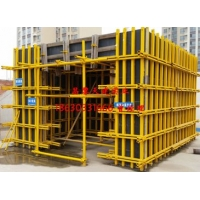 天建剪力墙钢结构模板支撑组合体系