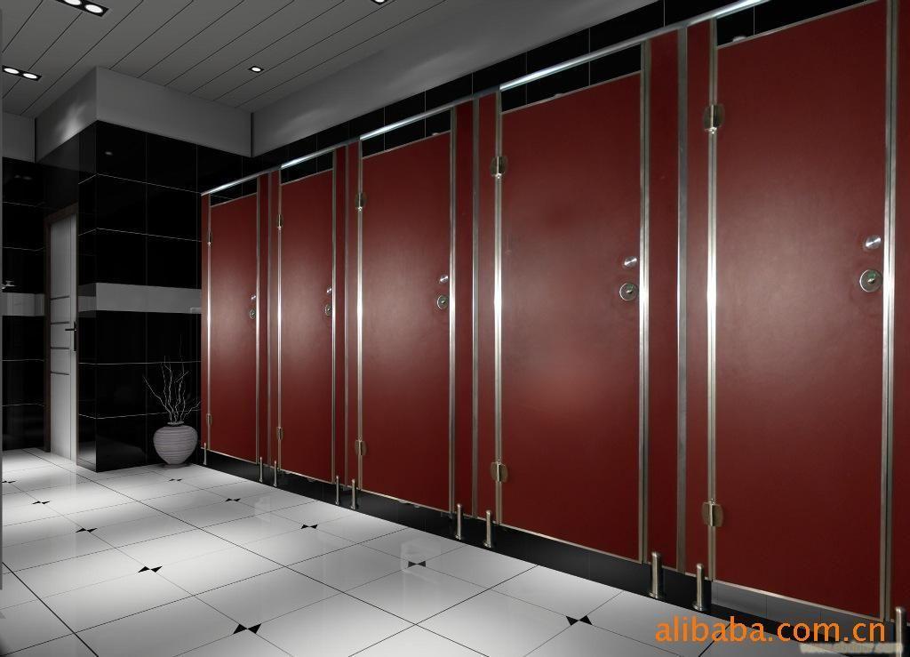 公共卫生间隔断 公共浴室隔断 公用厕所隔断