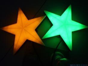 LED五角星灯点光源丨LED五角星七彩点光源品牌