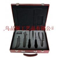义乌品硕直销,刀具碗筷盒,叉子盒,皮质餐具盒