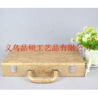 品硕供应 陶瓷包装盒 皮质新款陶瓷礼品盒