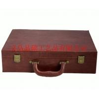 品硕供应 皮质交房盒 房地产资料盒 开发商交房礼品盒