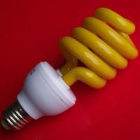 英达照明 彩色节能灯E27/SΦ12580×160