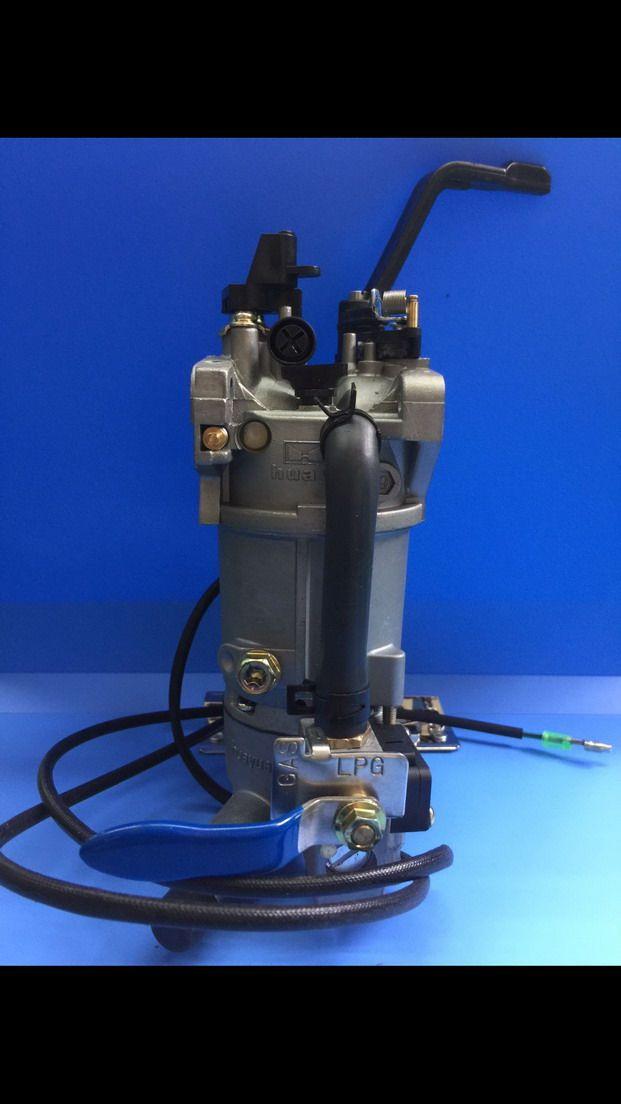 一体式瞬间切换双燃料化油器