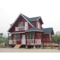 度假木屋  防腐环保木结构 小木屋