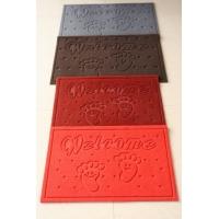 防滑防静电耐磨拉绒PVC复合压花广告地毯HY102