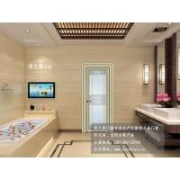 卫生间门/厕所门/卫浴门/钢化玻璃门铝合金平开门