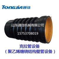 通佳JGPE-1200 HDPE克拉管设备