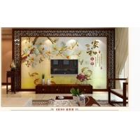 安溪陶瓷背景墙 瓷砖背景墙 电视背景墙