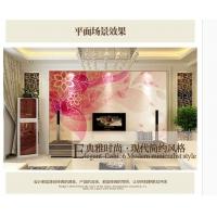 爱空间瓷砖背景墙 彩雕艺术背景现代风格