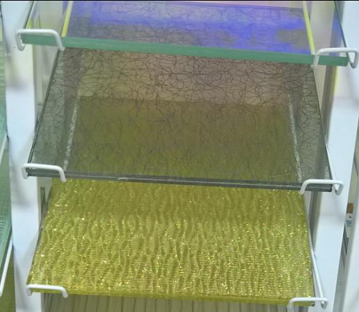 供应广东出口5+5屏风夹丝玻璃