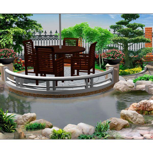 南京别墅花园-南京别墅庭院-南京晴天户外花园