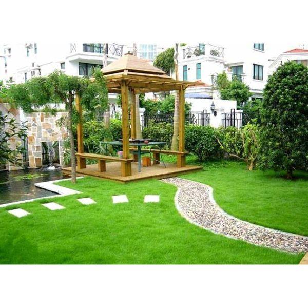 别墅花园庭院图片