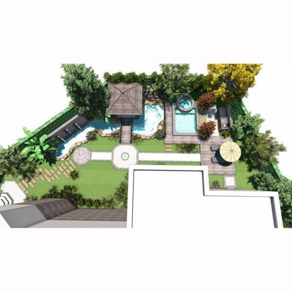 南京别墅花园庭院-南京晴天户外花园