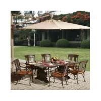 南京户外家具-南京晴天户外用品-紫荆长方桌餐桌